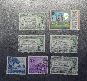 TRINIDAD AND TOBAGO  Stamps   Coms   1958    ~~L@@K~~