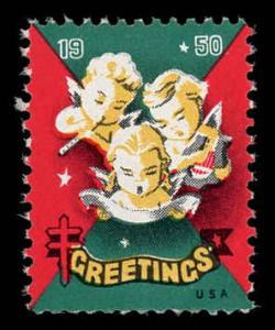 WX 150 Christmas Seal Mint (NH) 1950