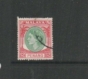 Malaya Penang 1954 $2 Used SG 42