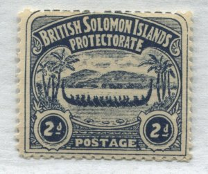 Solomon Islands 1907 2d mint o.g. hinged