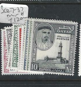 QATAR  (P0106B)  SHEIKH  SET  SG127-137   MNH