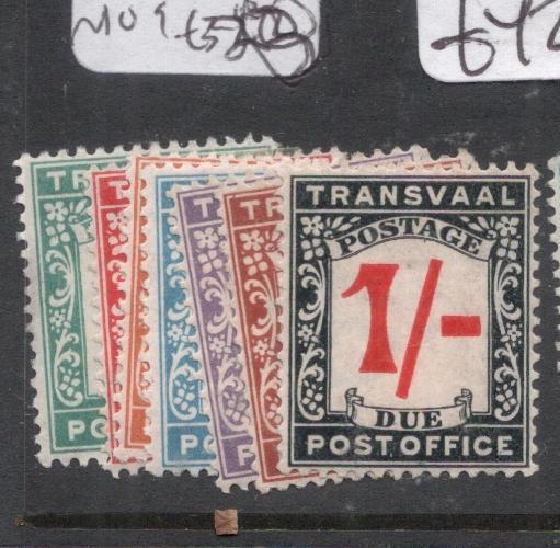 Transvaal 1907 Postage Dues SG D1-7 MOG (2dlc)