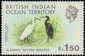 1971 British Indian Ocean Territory #39-42, Complete Set(4), Never Hinged