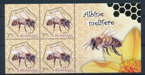 [32787] Romania 2010 Insects Insekten Insectes Honey Bee MNH Sheet