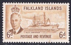 FALKLAND ISLANDS SCOTT 113