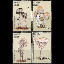 Norfolk Islands MNH 306-9 Mushrooms