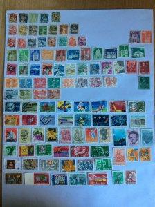 Switzerland 100+ stamps - Lot I