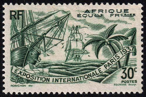 French Equatorial Africa - Scott 28 - Mint-Hinged