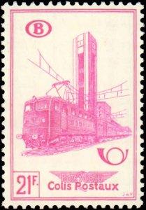 Belgium #Q362-Q364, Complete Set(3), 1954, Hinged