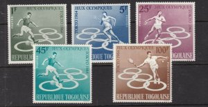 TOGO  ^^^^1964   MNH set(  TOKYO OLYMPICS) $$@ lar16togo