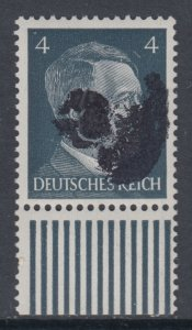 Germany Soviet Zone SBZ - LOCAL ROTSCHAU 4Pf HITLER head - Expertized Valicek