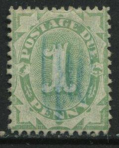 Australia 1902 1d Postage Due perf 11 1/2 very lightly used