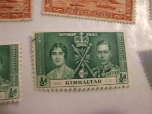Gibraltar #104 mint HR (reference 1/2/5/2)