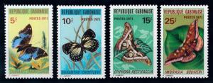 [65624] Gabon 1971 Butterflies  MLH