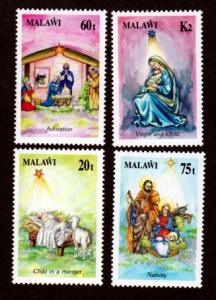 Malawi 594-597 Mint NH MNH Christmas!