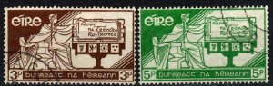 Ireland #169-70 F-VF Used CV $5.50 (X4149)