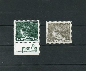 Israel Landscape 0.20L Single Grey Color Error Instead of Green MNH!!