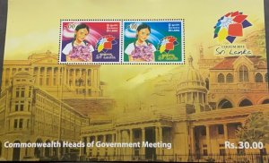 A) 2013 SRI LANKA, COMMONWEALTH HEADS OF GOVERNMENT MEETING, LARGE BUILDINGS, CO
