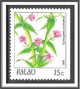 Palau #131 (v) Indigenous Flowers MNH