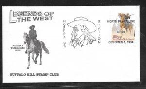 Just Fun Cover #2818 Norplex 94 Station North Platte Ne OCT/1/1994 (my4878)