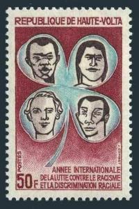 Burkina Faso 240,MNH.Michel 328. Year Against Racial Discrimination IYARD-1971.