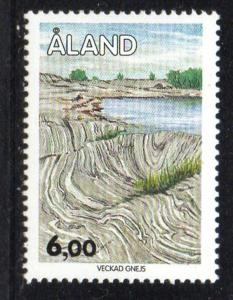 Aland Finland Sc 52 1993 6m Geologic Formation stamp mint NH