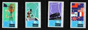 Tokelau-Sc#33-6-Unused NH set-South Pacific Commission-1972-