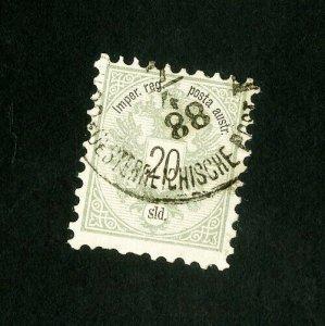 Austria Stamps # 12 VF Scarce Used Scott Value $600.00