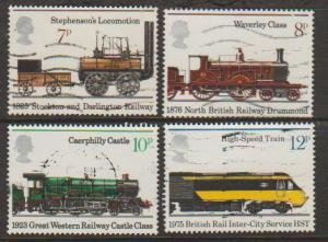 Great Britain SG 984 - 987 set Used