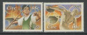 IRELAND SG1661/2 2004 OLYMPIC GAMES MNH