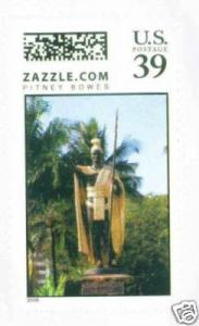 US HAWAII King Kamehameha the 1st, the Great Zazzle.com