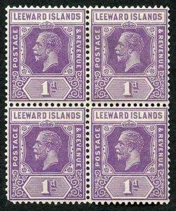 Leeward Is SG60 1d violet U/M Block (rounded corner)