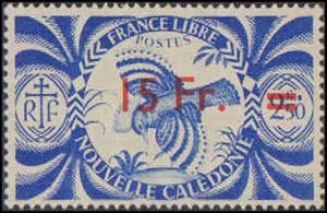 New Caledonia #266-273, Complete Set(8), 1945-1946, Hinged