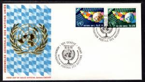 UN Geneva 79-80 General Assembly Geneva U/A FDC