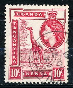 Kenya Uganda & Tanzania #104 Single Used