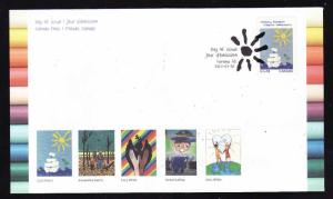 Canada-Sc#B20-stamp on FDC-2013-Art-Floating Adrift-