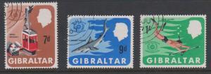 Gibraltar Sc#200-202 Used