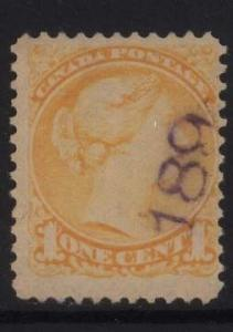 Canada #35 Used With 189 Cancel