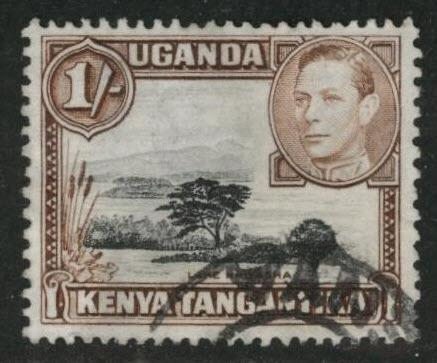 Kenya Uganda and Tanganyika KUT Scott 80 Used perf 13x11.5