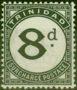 Trinidad 1945 8d Black SGD24 Fine Lightly Mtd Mint (2)