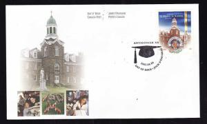 Canada-Sc#1975-stamp on FDC-St Francis Xavier University-2003-