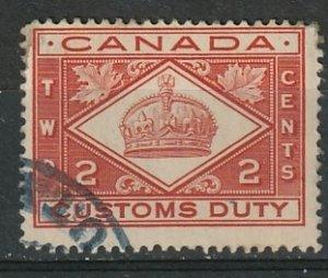 FCD2 Canada Used Custom Revenue