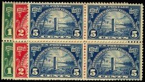 U.S. 1923-37 ISSUES 614-16  Mint (ID # 37427)