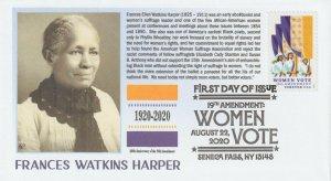 6° Cachets 5523 19th Amendment Women Vote Suffrage Frances Watkins Harper