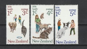 New Zealand MLH B89-91 Animals Health 1974
