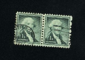 USA #1031  5 used 1954-1968 PD .12