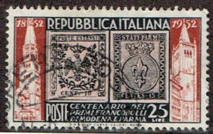 Italy # 602 Used
