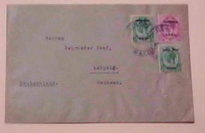 SOUTH WEST AFRICA 1922 CIBERE TO GERMANY