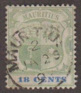 Mauritius Scott #109 Stamp - Used Single