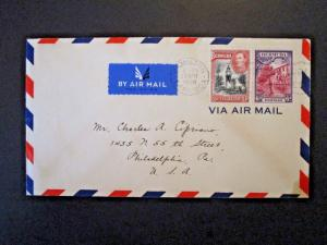 Bermuda 1938 Cover to USA - Z5090